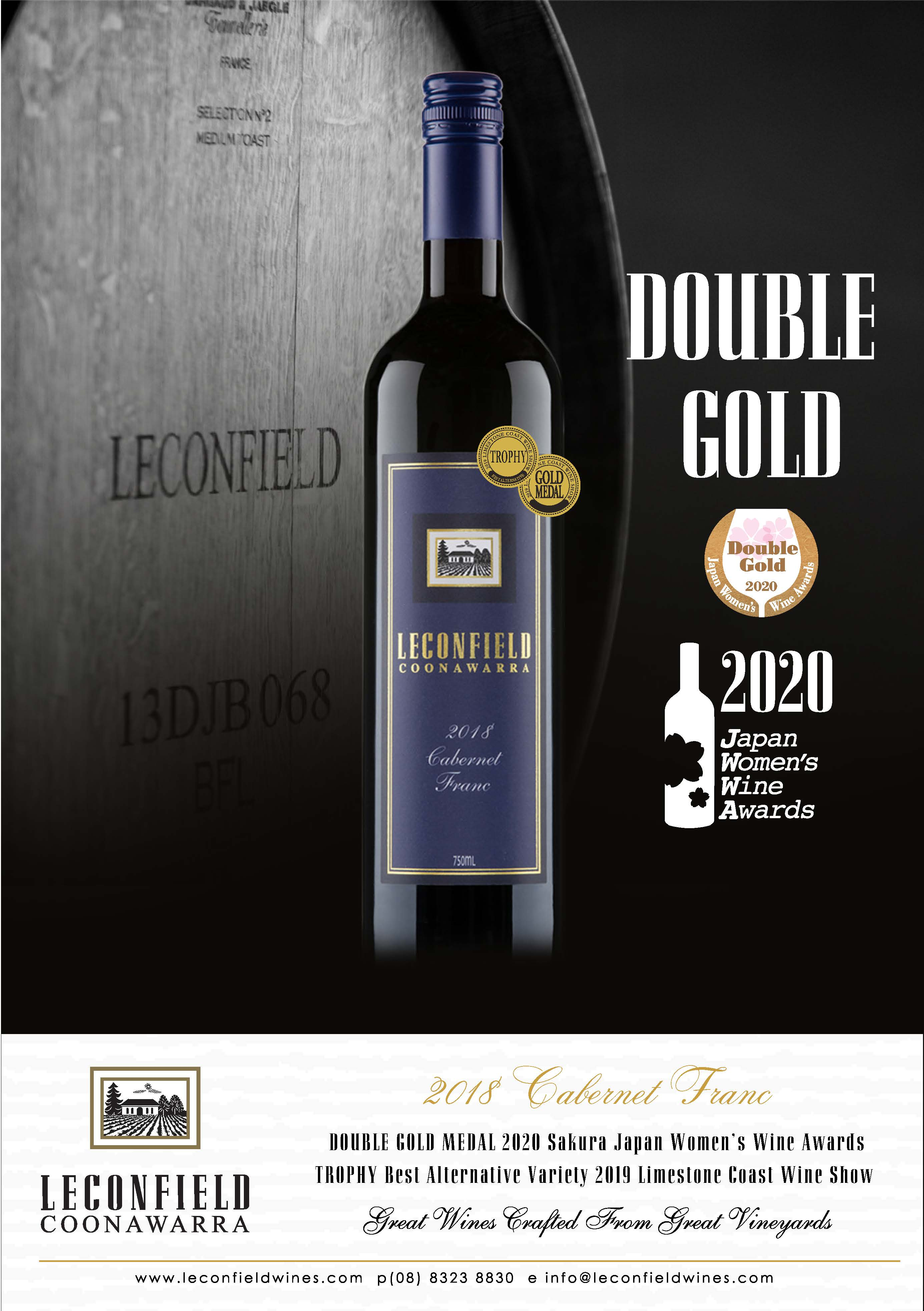 Four Double Gold Medals for Leconfield & Richard Hamilton Wines