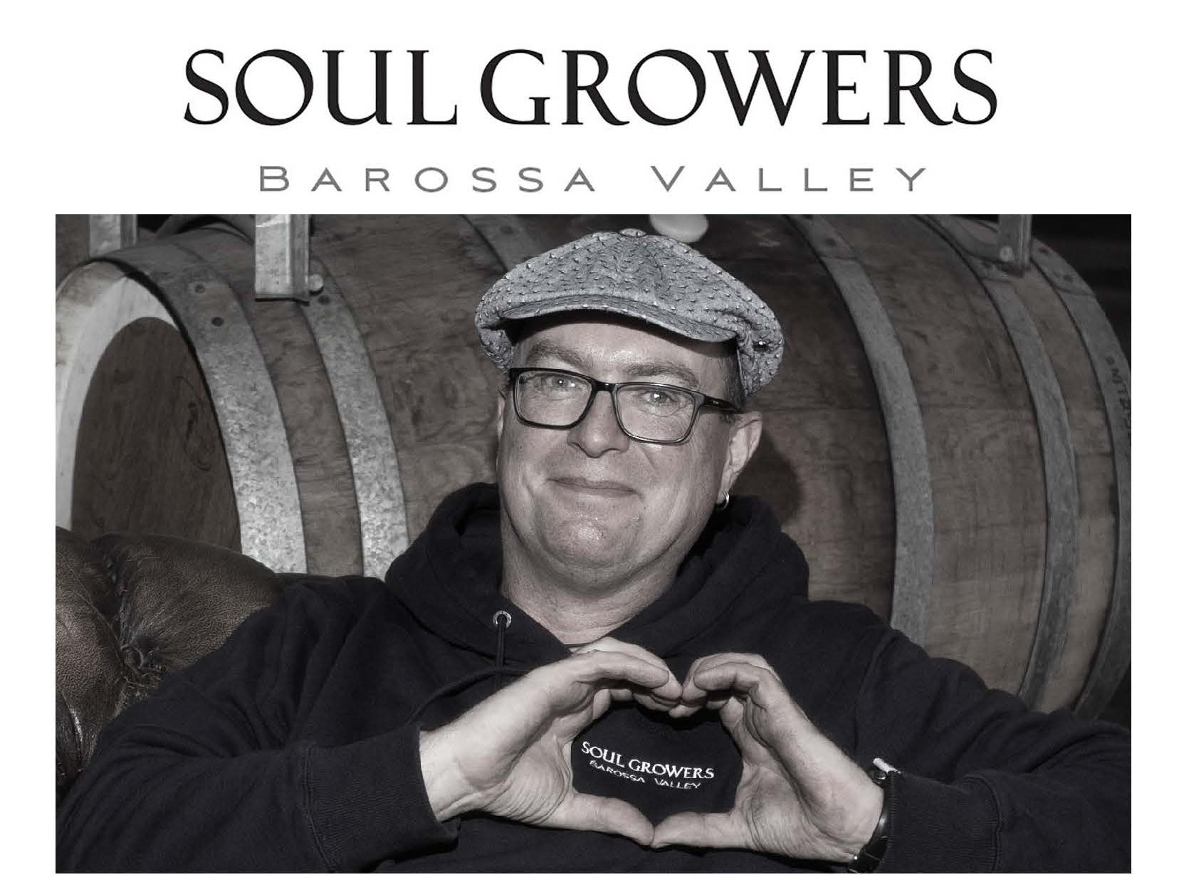 CONGRATULATIONS TO STUART BOURNE 2020 BAROSSA WINEMAKER OF THE YEAR (SOUL GROWERS)