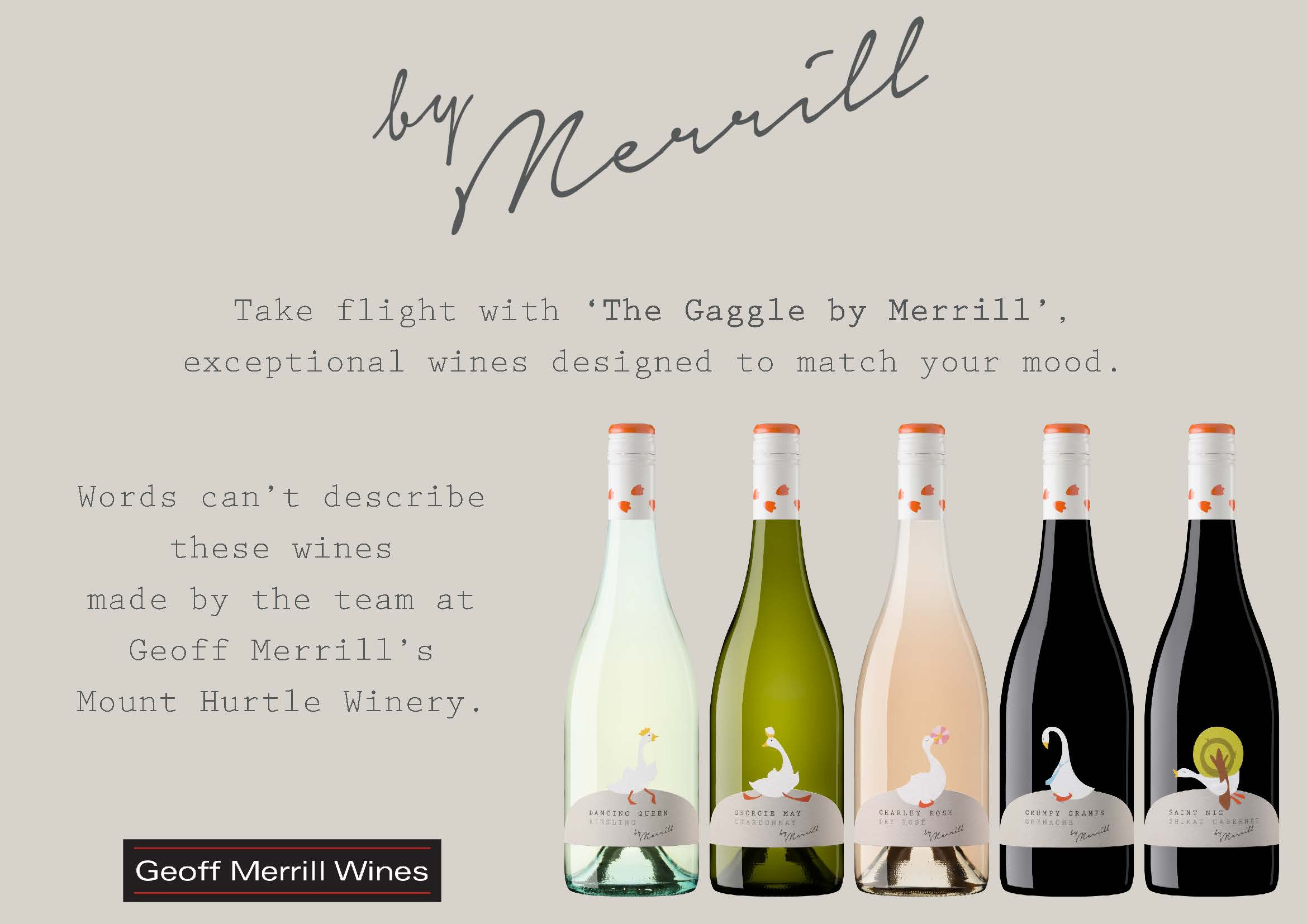 Introducing The Gaggle by Merrill