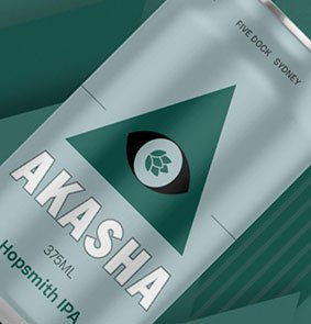 AKASHA HOPSMITH IPA 24 x 375ml CANS