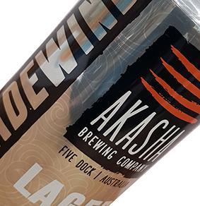 AKASHA TRADEWIND LAGER 24 x 375ml CANS