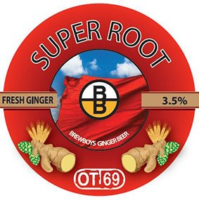 BREWBOYS SUPER ROOT GINGER 24 X 330ML