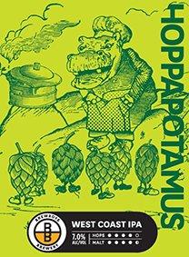 BREWBOYS HOPPAPOTAMUS PALE ALE 24 x 355ml CAN
