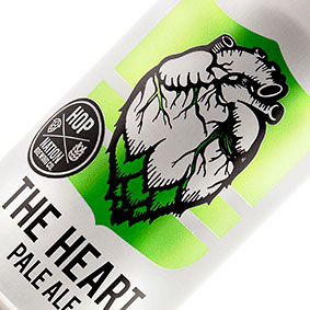 HOP NATION HEART PALE CAN 375ml x 24