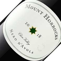 MOUNT HORROCKS NERO D'AVOLA 2018