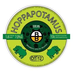 BREWBOYS HOPPAPOTAMUS PALE ALE 24 x 330ml
