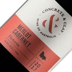 CONCRETE & CLAY MERLOT CABERNET 2017