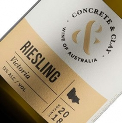 CONCRETE & CLAY RIESLING 2018 X 6