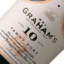 GRAHAMS 10 YO TAWNY PORT X 6