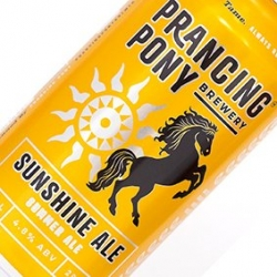 PRANCING PONY SUNSHINE ALE 24 x 375ml CAN